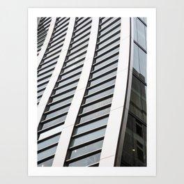 De Beers Ginza Building in Tokyo Art Print