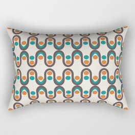 Steve Dots Laranis Rectangular Pillow