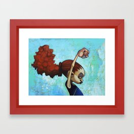 strong convictions Framed Art Print