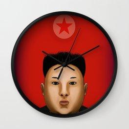 Kim Jong  The Supreme Leader Wall Clock