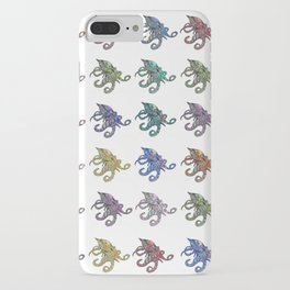 Octopus Party iPhone Case