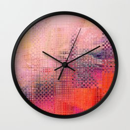Criss Cross Wall Clock