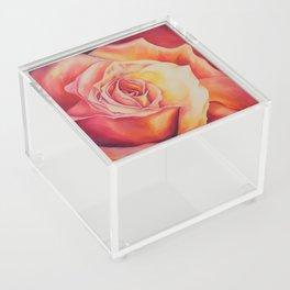 Sunset Rose Acrylic Box