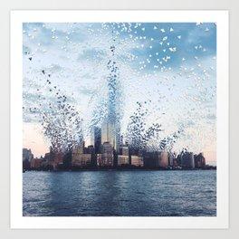 Citiescape Art Print
