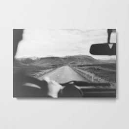 ON THE ROAD XVII Metal Print