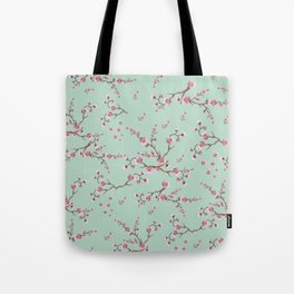 SAKURA  - PRETTY MINT Tote Bag