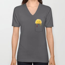 Pocketful of sunshine Unisex V-Ausschnitt