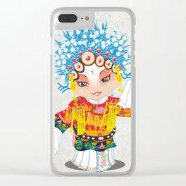 Beijing Opera Character SunShangXiang Clear iPhone Case