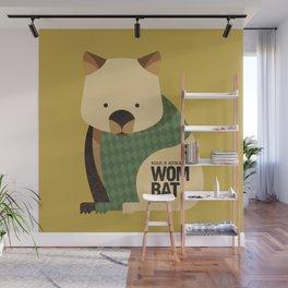 Hello Wombat Wall Mural