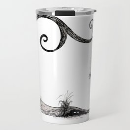 'Think I'll just stay in today' - Familiar and Friend Travel Mug
