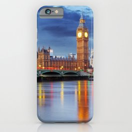 Big Ben and the Houses of Parliament, London iPhone Case