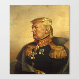 Donald Trump - replaceface Canvas Print
