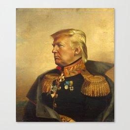 Donald Trump - replaceface Canvas Print
