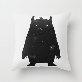 Mr. Cosmos Throw Pillow