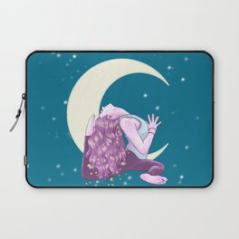 Namaste Witches, Mermaid Yogini, Yoga, petrol, Weronika Salach Laptop Sleeve