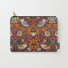"William Morris ""Strawberry Thief"" 3. Carry-All Pouch"