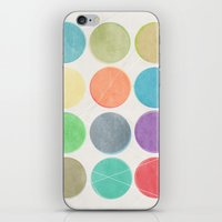 dots iPhone & iPod Skins featuring dots by Mareike Böhmer