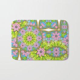Color Me Spring Mandala Bath Mat