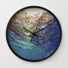 Emerging from a deep dive Wall Clock