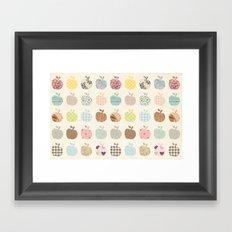 apples galore Framed Art Print