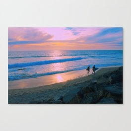 The Warmest Of Winters Canvas Print