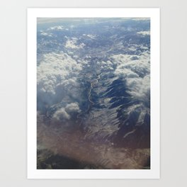 Above the Rockies, 2014 Art Print