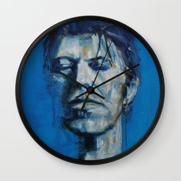 There`s A Starman Waiting in the Sky Wall Clock