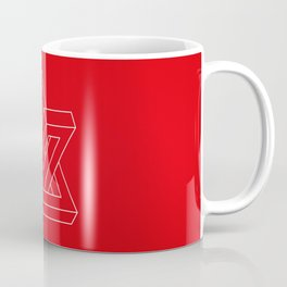 Optical illusion - Impossible figure Coffee Mug