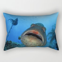 Big Nassau Grouper Rectangular Pillow