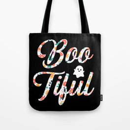 Halloween Ghost Boo Tiful Tote Bag