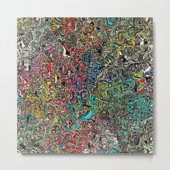 Abstract SQ Metal Print