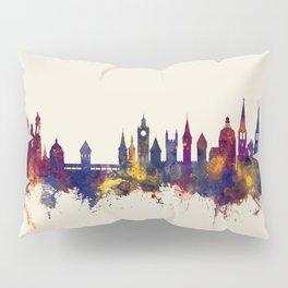 Lucerne Switzerland Luzern Skyline Pillow Sham