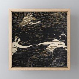 River Nymphs Framed Mini Art Print
