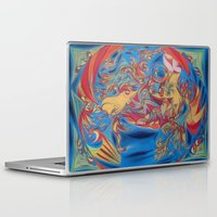eat Laptop & iPad Skins featuring EAT by Robert Nickologianis