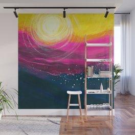 Sunset Ocean Wall Mural
