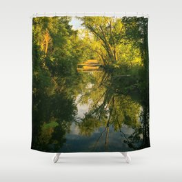 Green River Shower Curtain