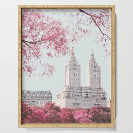 Surreal Spring - New York City Travel Photography Serving Tray