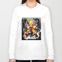 goku Long Sleeve T-shirts featuring Goku by ururuty