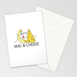 Mac & Cheese Best Friends Forever Stationery Cards