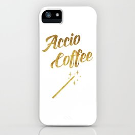 Accio Coffee iPhone Case