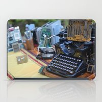 old school iPad Cases featuring Old School by ClaM