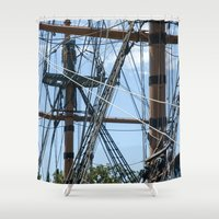 pirates Shower Curtains featuring Pirates! by NL Designs