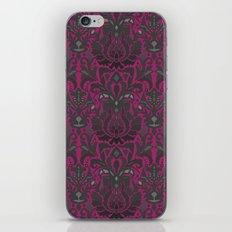 Aya damask fuchsia iPhone & iPod Skin