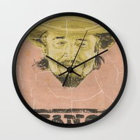 calvin and hobbes Wall Clocks featuring Calvin Candie by kjell