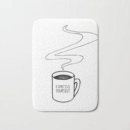 Espresso  Yourself Bath Mat