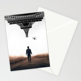 Bringing my drone to Paris by GEN Z Stationery Cards