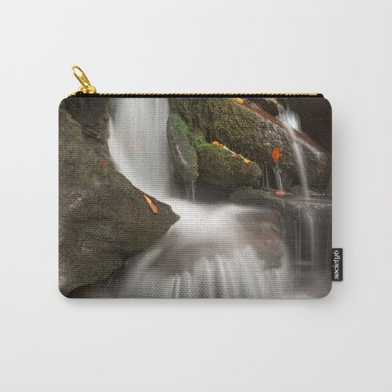 Crescent Crater Falls Carry-All Pouch