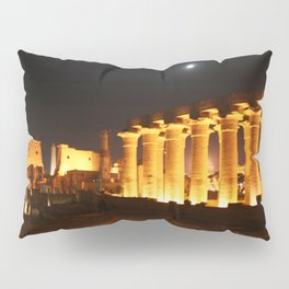 The night and the moon at Temple of Luxor, no. 29 Pillow Sham