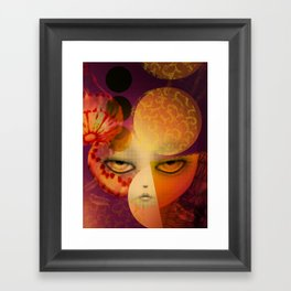 Alumbra Framed Art Print