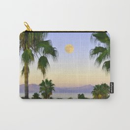 Palms on Full Moon Carry-All Pouch